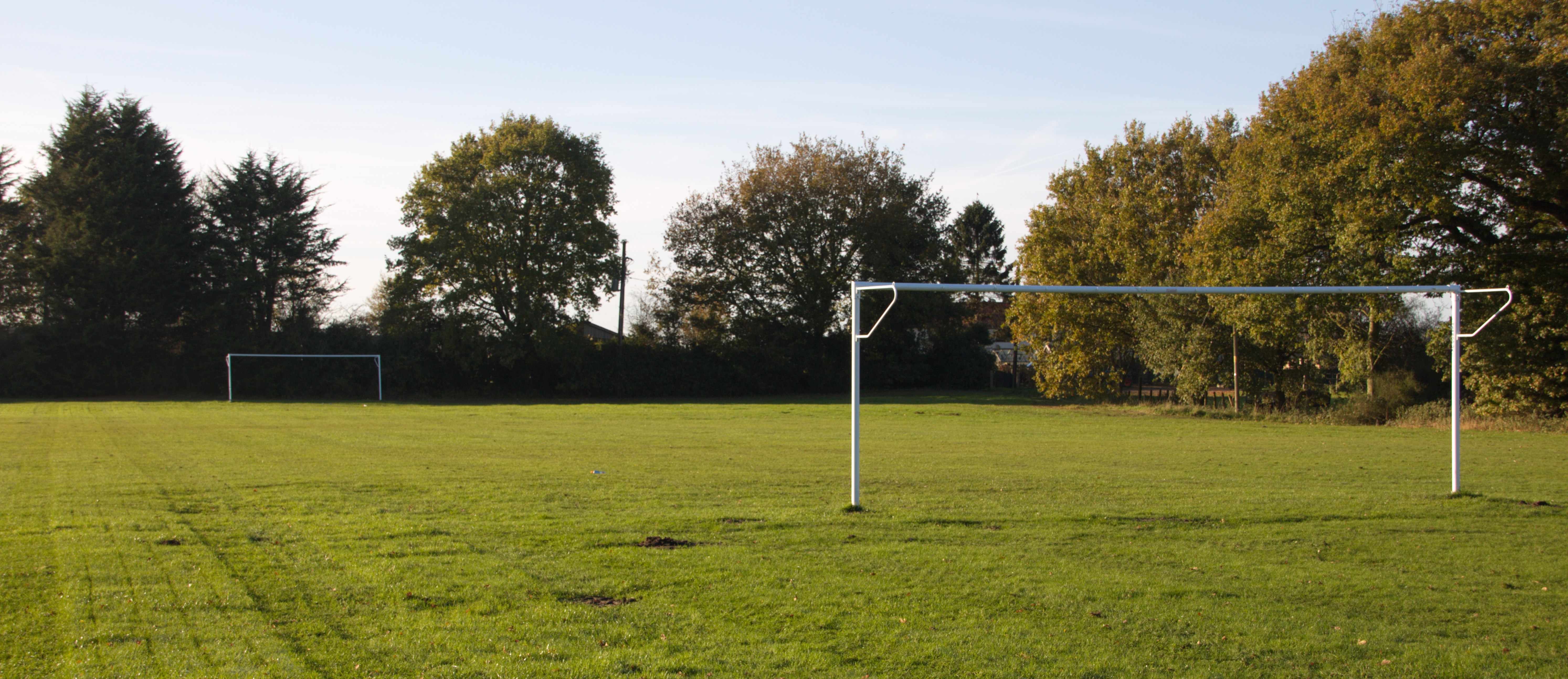 Longham Village Hall playing field